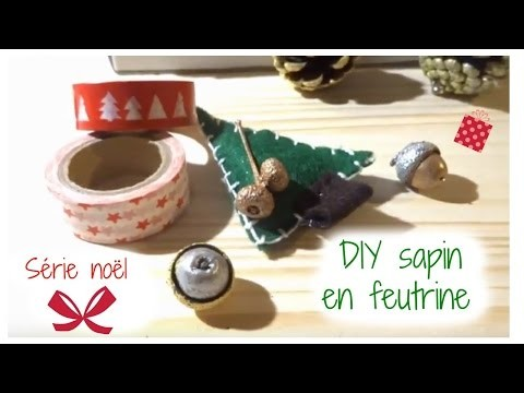 DIY Noël Le sapin en feutrine