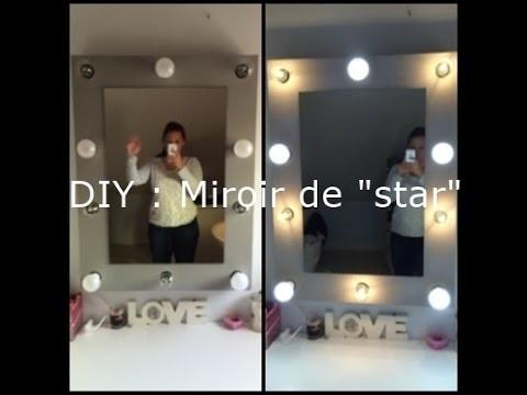 DIY : Réaliser un miroir de loge ♥