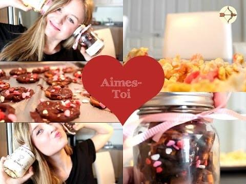 ♡  DIY | Snacks et Idées Cadeaux de Saint-Valentin ♡
