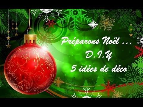 #_Préparons Noël |  D.I.Y | 5 idées de déco (Sapin & Autres)