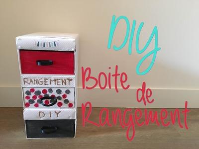 DIY : Boite de Rangement