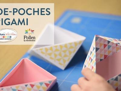 Tutoriel DIY : Réalisez un vide-poches origami - Cultura Creativ 2016