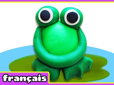 Comment faire une Grenouille en Pâte à Modeler  | How to make a Play Doh Frog | HooplaKidz Français