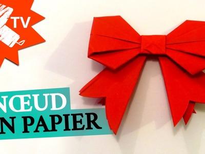 Noeud en Papier - Origami facile