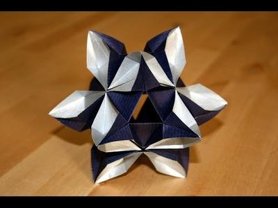 Origami - Kusudama Etoile - Star Kusudama [Senbazuru]