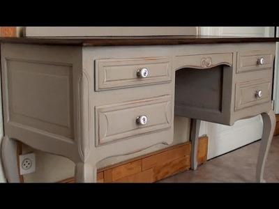 Patine sur meuble ancien. Tutoriel #2 (HD720p)