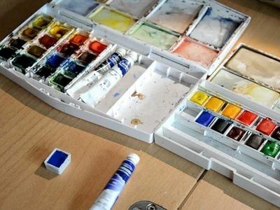 Tuto aquarelle : les premiers pas