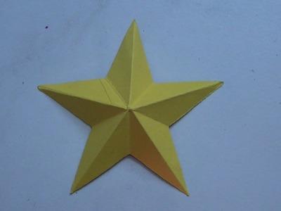 Tuto origami: étoile