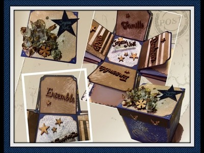 Tuto Scrap : La Boite surprise