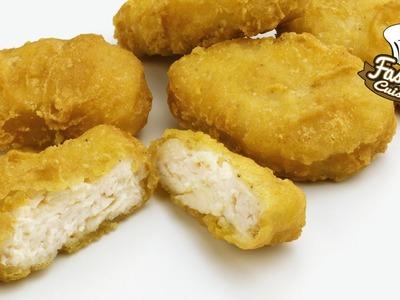 Comment faire les nuggets de Mcdo