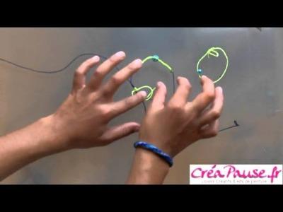 Comment faire un bracelet Shamballa - Tresser un bracelet Shamballa