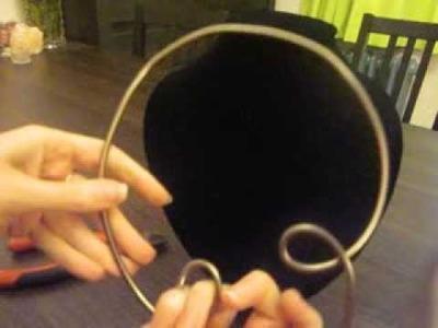 Comment faire un collier en aluminium, bases, How make an aluminium Necklace