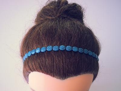 DIY Fabriquer un Headband avec des perles