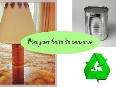 DIY recycler des boites de conserve