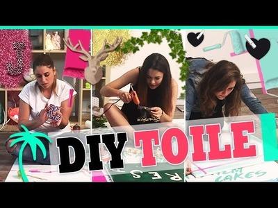 DIY Toiles : La déco des Palmgirls
