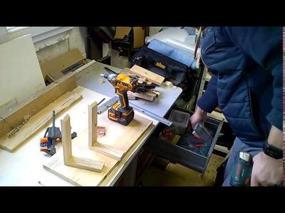 Etagère en bois de palette