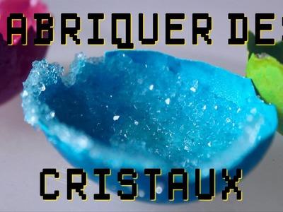 Expérience - Fabrication de cristaux ! Dr Nozman
