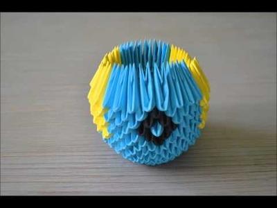 Origami 3D Minion