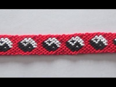 Tuto Bracelet Bresilien Ying Yang (avancé)