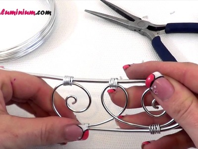 ► [ TUTO ] Bracelet Manchette