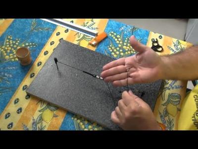 Tutoriel comment faire un bracelet shamballa et une planche