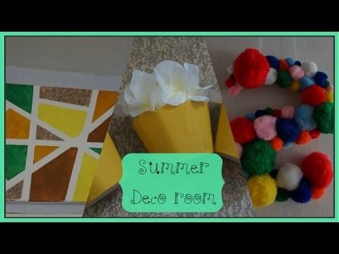 DIY #24 ❤ Summer Deco Room ❤