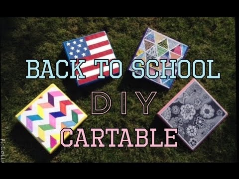 DIY Back To School 3 Idée De Cartable
