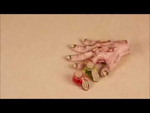 Tuto DIY 2. Halloween Zombie
