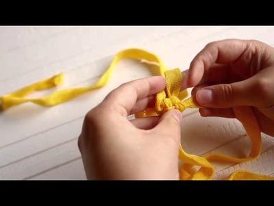 Asas macramé · Macramé handles · Poignées en macramé