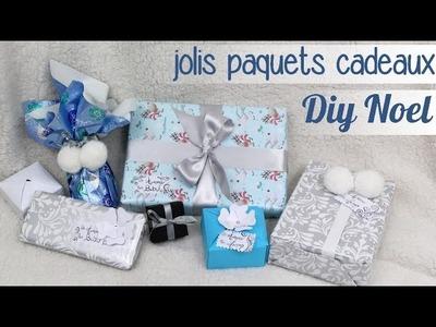 DIY noel : faire des paquets cadeaux
