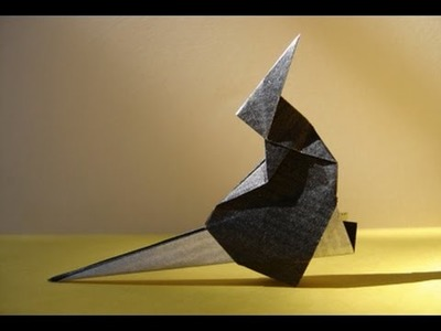 Origami - Sorcière sur son balai - Witch on a broom [Senbazuru]
