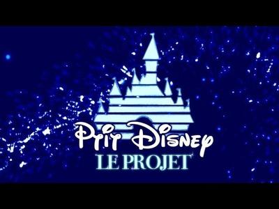 PtitDisney #1 Château Disney: Le projet ! Vidéos tuto sur le thème DISNEY.