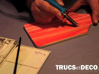 Pyrogravure sur bois - Tutoriel par trucsetdeco.com