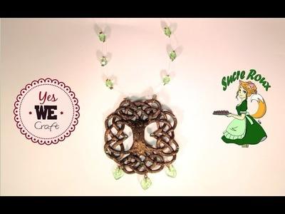 [YWC] Tuto Mythologie: Collier Yggdrasil et tressage celtique polymère