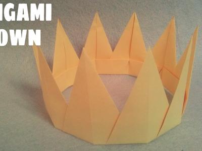 Origami facile - Couronne en Origami