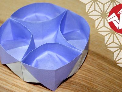 Tuto Origami - Plateau Lazy Susan [Senbazuru]