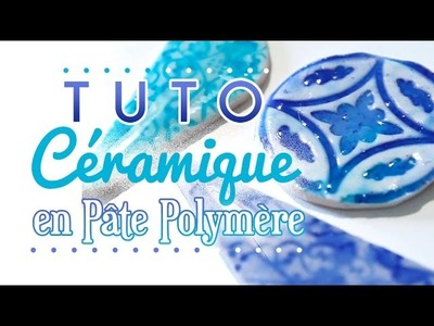 [TUTO] Imitation Céramique - Polymer Clay Faux Ceramic