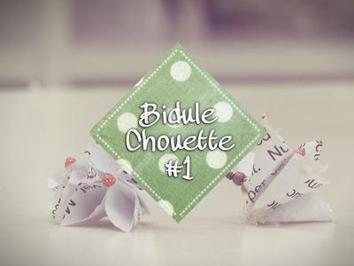 [DIY]Bidule Chouette #1 - Des boucles d'oreilles en papier