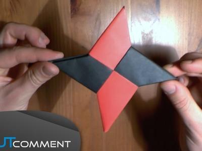 Étoile ninja en papier