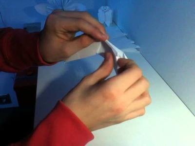 Faire un shuriken à 8 branches en origami - Fabriquer une étoile de ninja