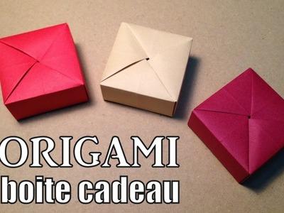 Origami boite cadeau facile !