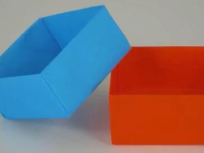 Origami boite facile !