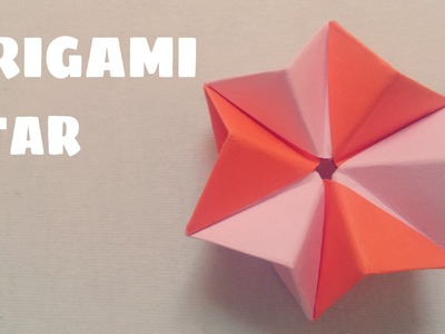 Origami origami petit oiseau traditionnel small - Comment faire une etoile en papier facile ...