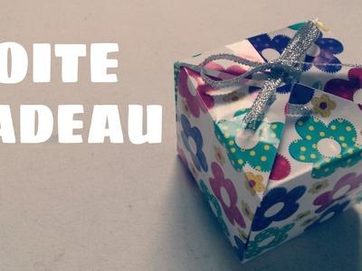 Origami facile - Faire une boite cadeau en papier