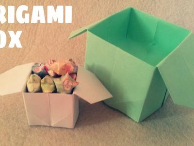 Origami facile - Faire une boite en origami
