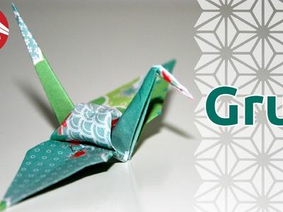 Origami - Grue - Crane (HD) [Senbazuru]