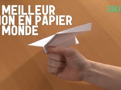 Origami : Le meilleur avion en papier du monde ! - HD