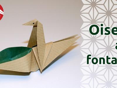 Origami - Oiseau à la fontaine - Drinking Bird [Senbazuru]