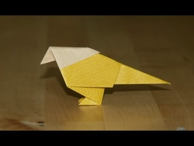 Origami - Petit oiseau traditionnel - Small Traditional Bird [Senbazuru]