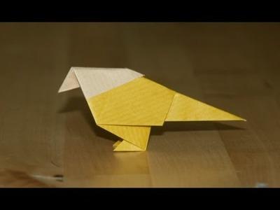 Origami - Petit oiseau traditionnel - Small Traditional Bird [Senbazuru]